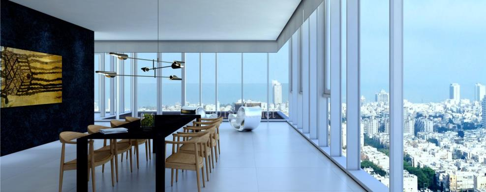 Spectacular skyline penthouse for sale