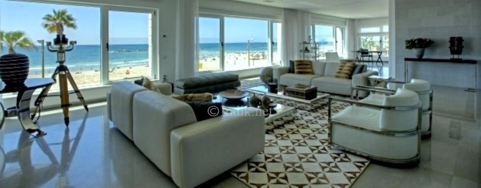 A luxury apartment for sale in Tel Aviv, Herbert Samuel promenade