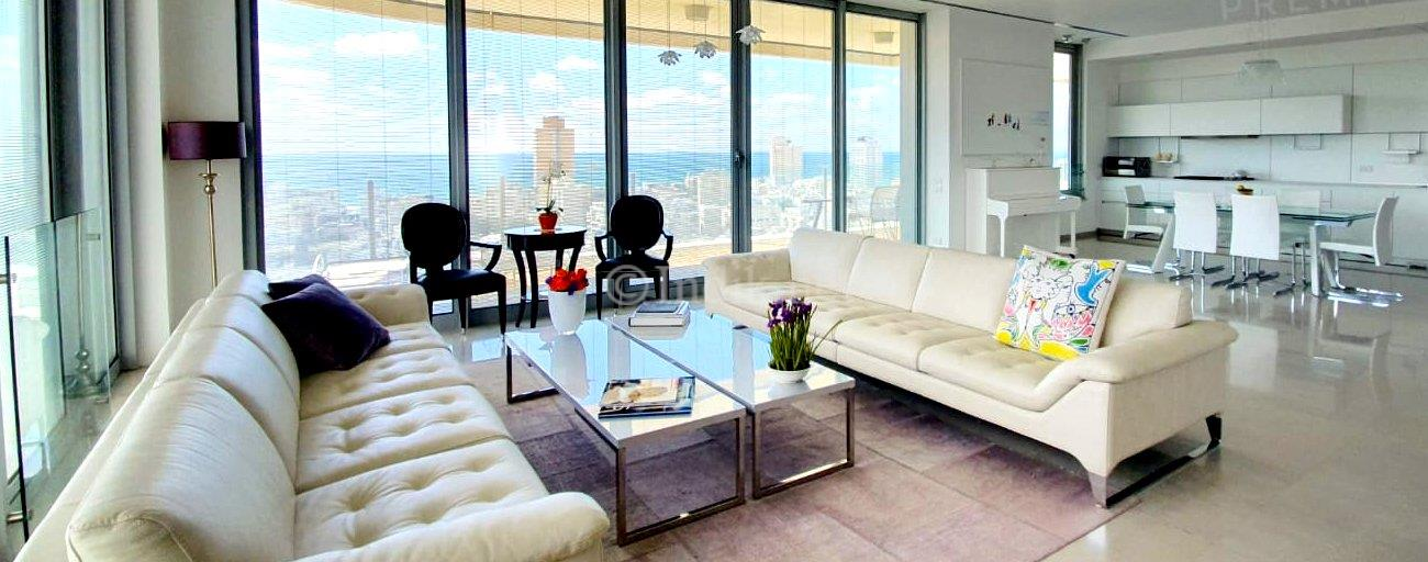 For rent luxury apartment in Frishman tower