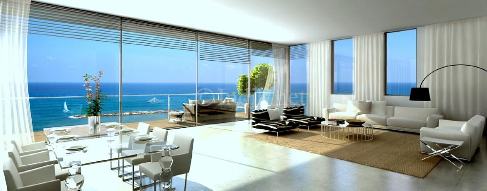 New Penthouse duplex facing the sea+swimming pool